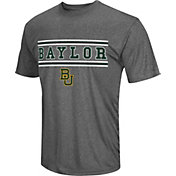 Colosseum Athletics Men's Baylor Bears Grey Matrix T-Shirt