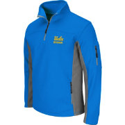 Colosseum Men's UCLA Bruins True Blue Quarter-Zip Plow Jacket