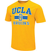 Colosseum Men's UCLA Bruins Gold Dual-Blend T-Shirt
