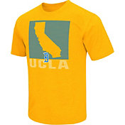 Colosseum Athletics Men's UCLA Bruins Gold State of the Union T-Shirt
