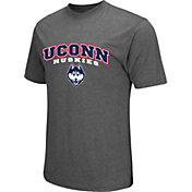 Colosseum Athletics Men's Connecticut Huskies Grey Classic T-Shirt