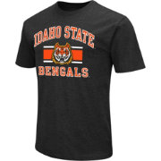 Colosseum Men's Idaho State Bengals Black Dual Blend T-Shirt