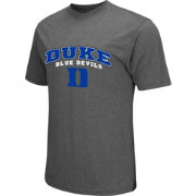 Colosseum Athletics Men's Duke Blue Devils Grey Classic T-Shirt