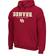 Colosseum Athletics Men's Indiana Hoosiers Crimson Performance Fleece Pullover Hoodie