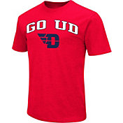 Colosseum Athletics Men's Dayton Flyers Red Team Slogan T-Shirt