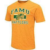 Colosseum Men's Florida A&M Rattlers Orange Dual Blend T-Shirt
