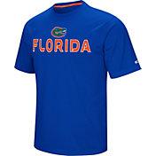 Colosseum Athletics Men's Florida Gators Blue Pique Performance T-Shirt