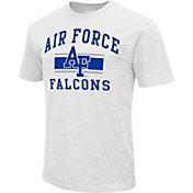 Colosseum Athletics Men's Air Force Falcons White Dual-Blend T-Shirt