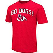 Colosseum Athletics Men's Fresno State Bulldogs Cardinal Team Slogan T-Shirt