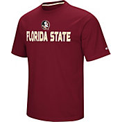 Colosseum Athletics Men's Florida State Seminoles Garnet Pique Performance T-Shirt
