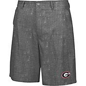 Chiliwear Men's Georgia Bulldogs Grey Match Play Short