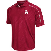 Chiliwear Men's Oklahoma Sooners Crimson Sleet Performance Polo