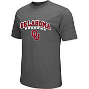 Colosseum Athletics Men's Oklahoma Sooners Grey Classic T-Shirt