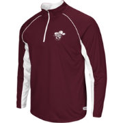 Colosseum Athletics Men's Eastern Kentucky Colonels Maroon Airstream Quarter-Zip Windshirt