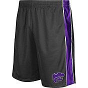 Colosseum Athletics Men's Kansas State Wildcats Grey Layup Shorts