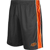 Colosseum Athletics Men's Oklahoma State Cowboys Grey Layup Shorts