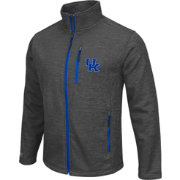 Colosseum Athletics Men's Kentucky Wildcats Grey Backfield II Jacket