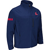 Colosseum Athletics Men's Ole Miss Rebels Blue Yukon Jacket