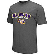 Colosseum Athletics Men's LSU Tigers Grey Classic T-Shirt