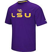Colosseum Athletics Men's LSU Tigers Purple Pique Performance T-Shirt