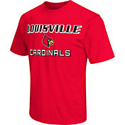 Colosseum Athletics Men's Louisville Cardinals Cardinal Red Matrix T-Shirt