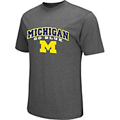 Colosseum Athletics Men's Michigan Wolverines Grey Classic T-Shirt