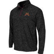 Colosseum Athletics Men's Minnesota Golden Gophers Action Pass Black Quarter-Zip