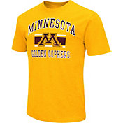 Colosseum Athletics Men's Minnesota Golden Gophers Gold Dual-Blend T-Shirt