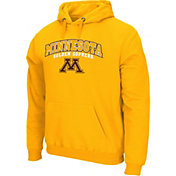 Colosseum Athletics Men's Minnesota Golden Gophers Gold Secondary Fleece Hoodie