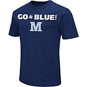 Colosseum Men's Maine Black Bears Navy Team Slogan T-Shirt