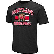 Colosseum Athletics Men's Maryland Terrapins Black Dual-Blend T-Shirt