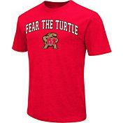 Colosseum Men's Memphis Tigers Blue Team Slogan T-Shirt