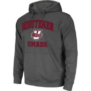 Colosseum Athletics Men's UMass Minutemen Grey Performance Hoodie
