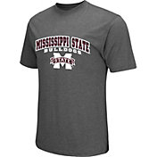 Colosseum Athletics Men's Mississippi State Bulldogs Grey Classic T-Shirt