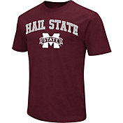 Colosseum Athletics Men's Mississippi State Bulldogs Maroon Team Slogan T-Shirt