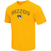 Colosseum Athletics Men's Missouri Tigers Gold State of the Union T-Shirt