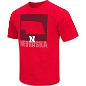 Colosseum Athletics Men's Nebraska Cornhuskers Black State of the Union T-Shirt