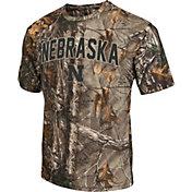 Colosseum Athletics Men's Nebraska Cornhuskers Camo Brow Tine T-Shirt