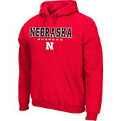 Colosseum Athletics Men's NC State Wolfpack Red Performance Fleece Pullover Hoodie