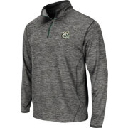 Colosseum Athletics Men's UNCC 49ers Grey Action Pass Quarter-Zip