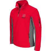 Colosseum Men's NC State Wolfpack Red Quarter-Zip Plow Jacket
