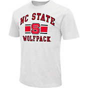 Colosseum Men's NC State Wolfpack White Dual-Blend T-Shirt