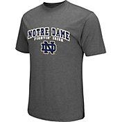 Colosseum Athletics Men's Notre Dame Fighting Irish Grey Classic T-Shirt
