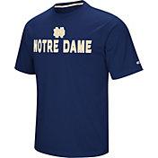 Colosseum Athletics Men's Notre Dame Fighting Irish Navy Pique Performance T-Shirt