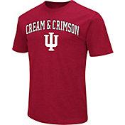 Colosseum Men's Indiana Hoosiers Crimson Team Slogan T-Shirt