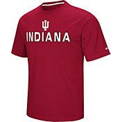 Colosseum Athletics Men's Indiana Hoosiers Crimson Pique Performance T-Shirt