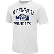Colosseum Athletics Men's New Hampshire Wildcats White Dual-Blend T-Shirt