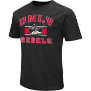 Colosseum Athletics Men's UNLV Rebels Black Dual Blend T-Shirt