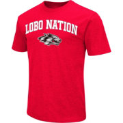 Colosseum Men's Northern Illinois Huskies Red Team Slogan T-Shirt