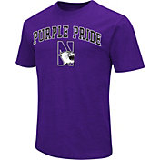 Colosseum Athletics Men's Notre Dame Fighting Irish Navy Team Slogan T-Shirt